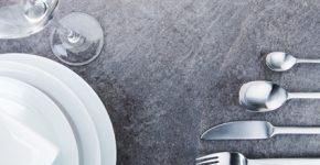 ekskluzywna zastawa stołowa z porcelany